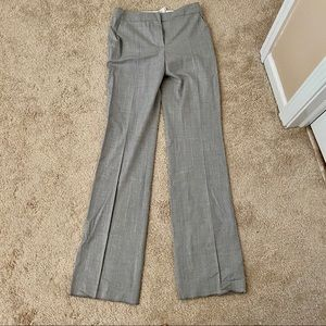 NWT MaxMara Light Grey Trouser Pants in Size 6